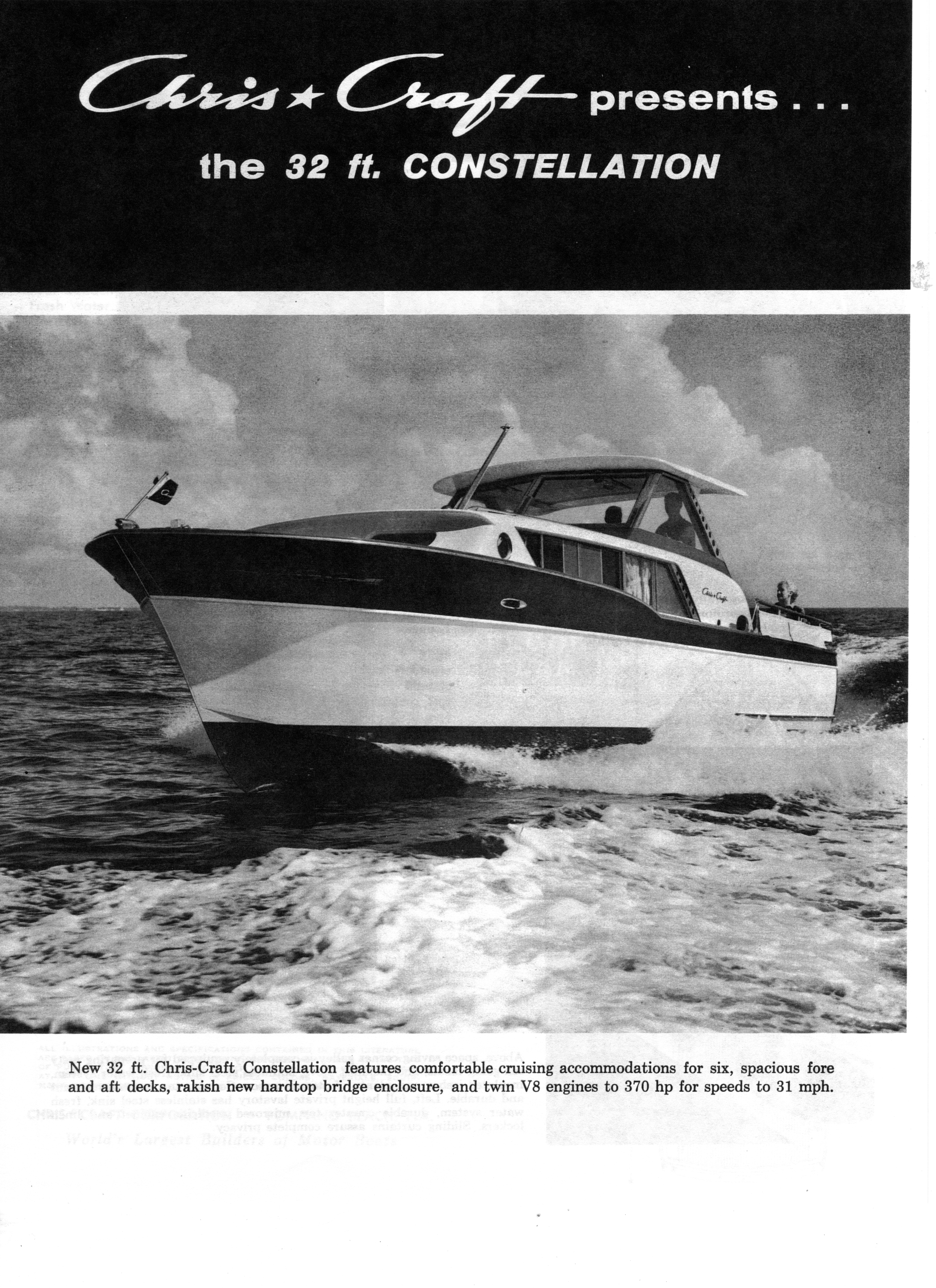 Broken Rule Two 1961 32 Chris Craft Connie Has Been Sold Model A Engine Diagram The Brochure From